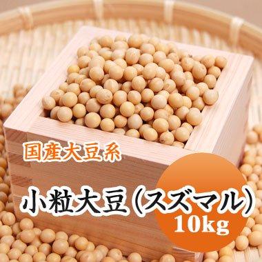 【28年産】北海道産 小粒大豆(スズマル)(10kg)