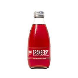 【送料無料】炭酸入りソフトドリンク CAPI (カピ) クランベリー