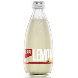 【送料無料】炭酸入りソフトドリンク CAPI (カピ) レモン
