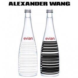 【数量限定】エビアンデザイナーズボトル Christion Lacroix / Alexander Wang 750ml×1本