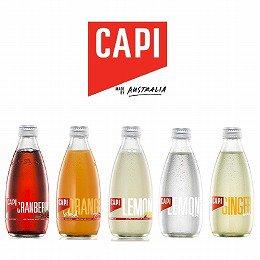 【送料無料】炭酸入りソフトドリンク CAPI (カピ)ギフトセット 5種類×各1本