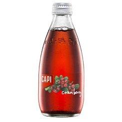 【SALE!40%OFF ラベル不良商品】【送料無料】炭酸入りソフトドリンク CAPI (カピ) クランベリー