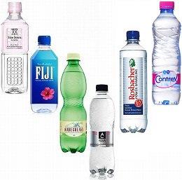 美の水セット〈炭酸なし&炭酸あり〉 12本入り(6種×2本)