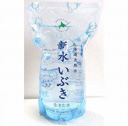 北海道天然水 新水いぶき