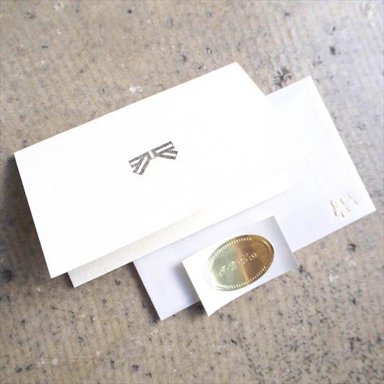 メッセージカード/リボン 印字サービスあり