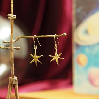 ただ一つの星ピアス / イヤリング