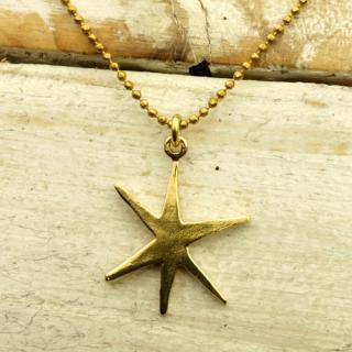 ただ一つの星ネックレス