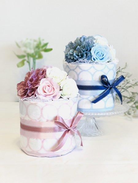 プチラウンドダイパーケーキ「ダリア&ローズ」