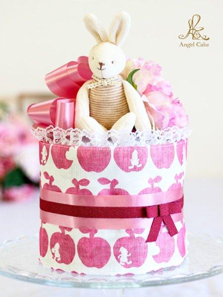 白雪姫と7人のこびとケーキ・ピンク