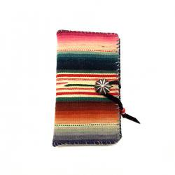 Vintage Mexican Rag iPhone case Book Flip Card Holder Case / ビンテージメキシカンラグ 手帳型アイフォーンケース