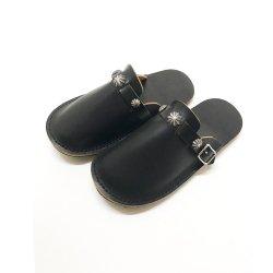 ビブラムソール 手縫い シェルコンチョ レザーサンダル Shell Concho Leather Sandal