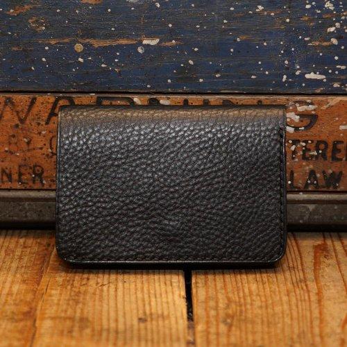 イタリアアリゾナレザー トラッカーウォレット 財布 ブラック/ Arizona Sibo leather Tracker Wallet