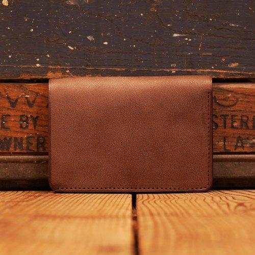 ロロマレザー トラッカーウォレット 財布 チョコ/ roroma leather Tracker Wallet