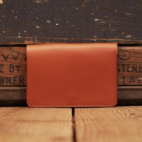 イタリアアリゾナレザー トラッカーウォレット 財布 キャメル/ Arizona Sibo leather Tracker Wallet