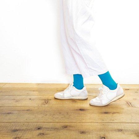 """足にやさしい靴下""""さあ旅に出よう"""":TRIP SCOTT TYPE.S-01/LIGHT BLUE"""