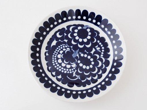 ARABIA/アラビア/100周年記念/プレート14.5cm(ブルー)