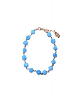 【Chibi jewels】Turquoise Bracelet(ゴールド)<br>定価10,920円<img class='new_mark_img2' src='https://img.shop-pro.jp/img/new/icons24.gif' style='border:none;display:inline;margin:0px;padding:0px;width:auto;' />