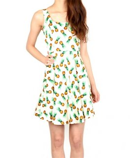 【LAimport】pineapple dress/パイナップルワンピース<img class='new_mark_img2' src='//img.shop-pro.jp/img/new/icons14.gif' style='border:none;display:inline;margin:0px;padding:0px;width:auto;' />