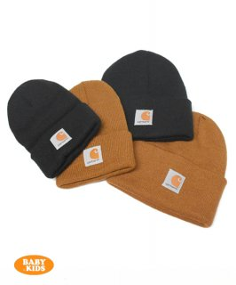 <img class='new_mark_img1' src='https://img.shop-pro.jp/img/new/icons11.gif' style='border:none;display:inline;margin:0px;padding:0px;width:auto;' />【Carhartt】 Kid's Acrylic Watch Hat