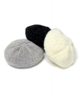 <img class='new_mark_img1' src='https://img.shop-pro.jp/img/new/icons20.gif' style='border:none;display:inline;margin:0px;padding:0px;width:auto;' />【RAYdy】Shaggy knit Beret