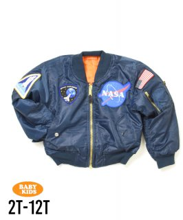 【ROTHCO】NASA MA-1 Flight Jacket(2T-12T)