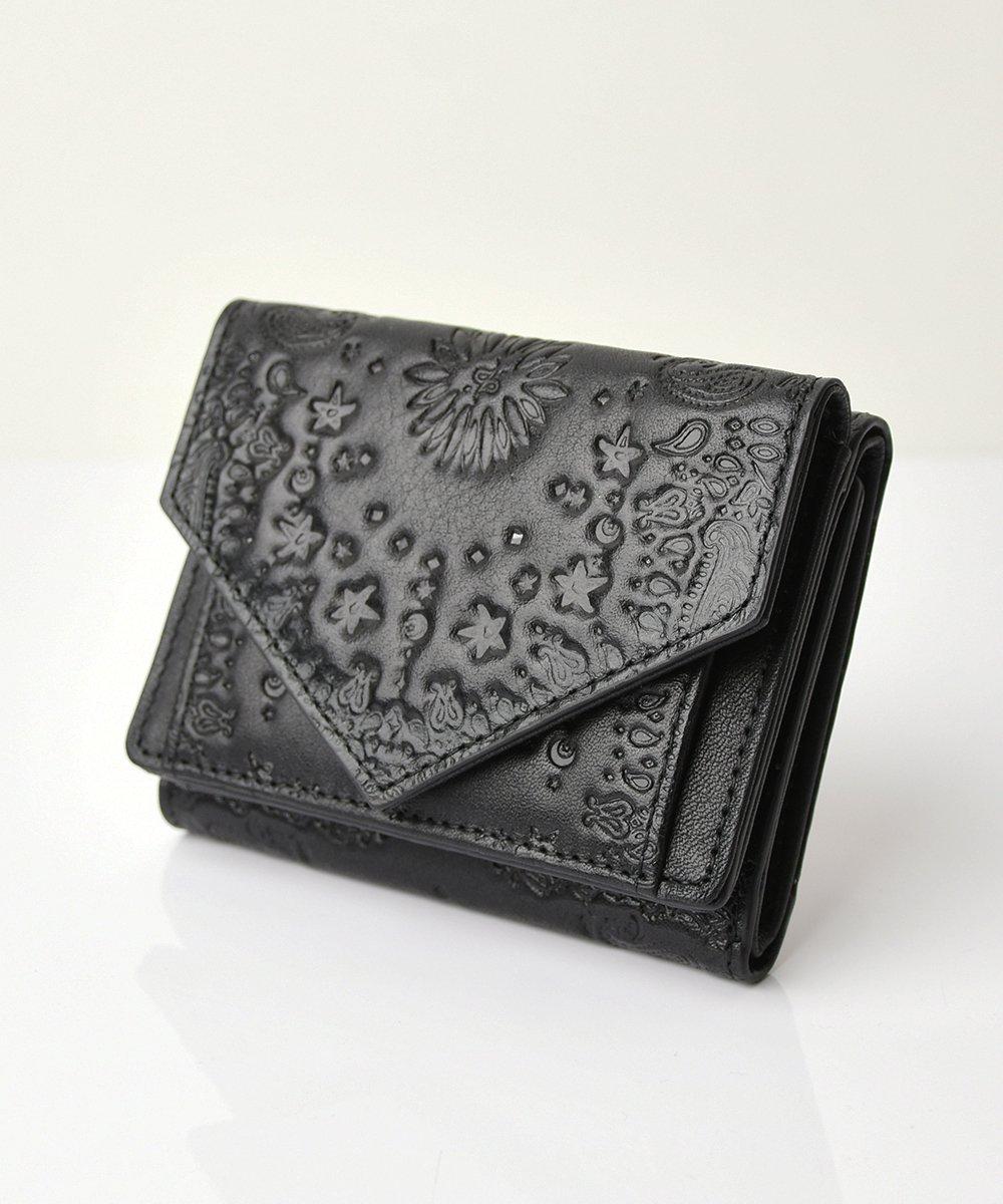 【mixxdavid】Tri-Fold Wallet (Black)