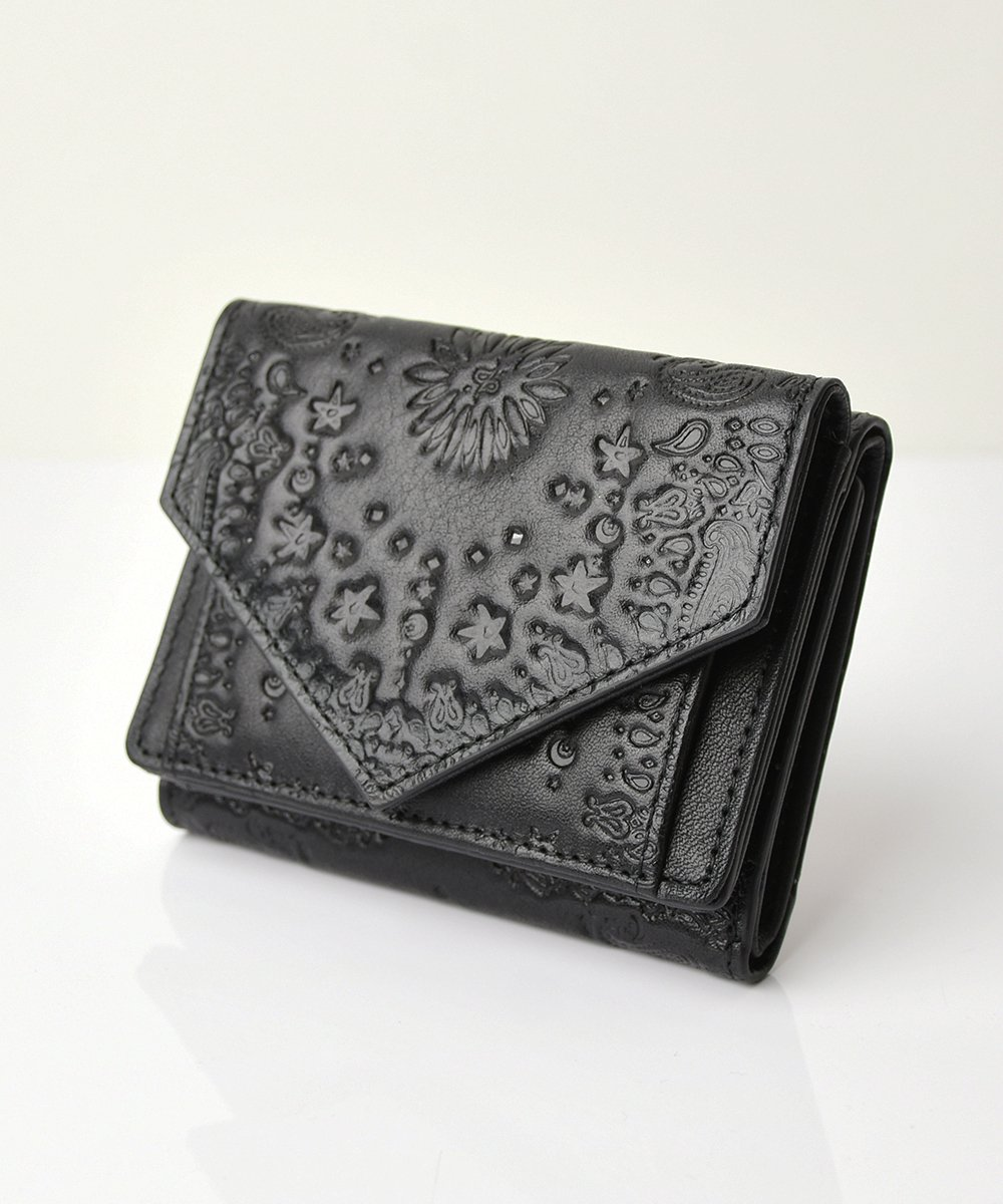 【mixxdavid】Tri-Fold Wallet   (Black)<img class='new_mark_img2' src='https://img.shop-pro.jp/img/new/icons56.gif' style='border:none;display:inline;margin:0px;padding:0px;width:auto;' />