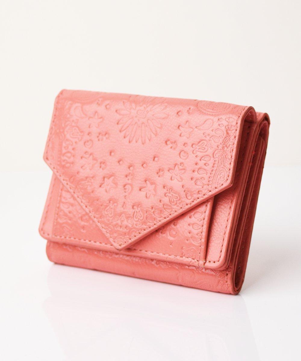 【mixxdavid】Tri-Fold Wallet (Pink)
