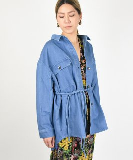 【ChignonStar】Denim Shirts Jacket (2Color)