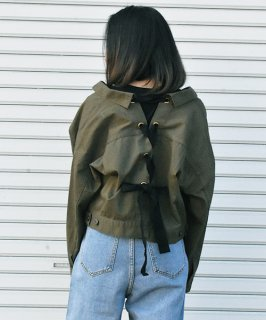 【QUINOA】Back Spindlle Jacket