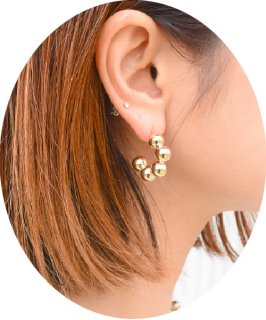 【RAYdy SELECT】Ball Pierce  (2Color)