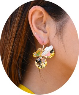 【RAYdy SELECT】Flower Stone Pierce