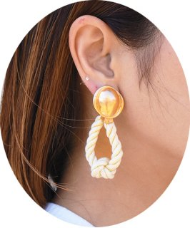 【RAYdy SELECT】Rope Earrings (イヤリング)