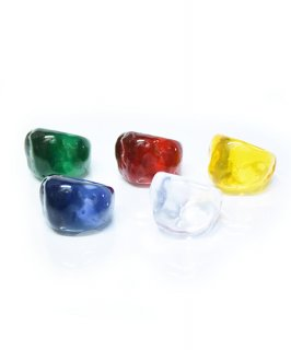 【RAYdySELECT】Acrylic Jewel Ring(5Color)