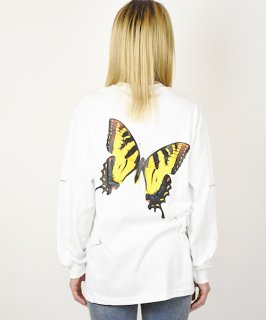 【ABOGINAL】Like A Butterfly L/S Tee (2Color)