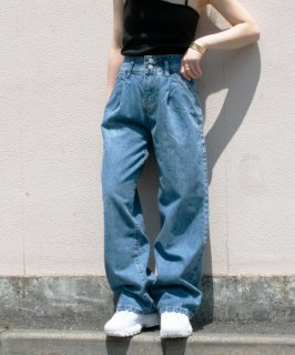 【RAYdy】W Bottan Tack Denim Pants<img class='new_mark_img2' src='https://img.shop-pro.jp/img/new/icons8.gif' style='border:none;display:inline;margin:0px;padding:0px;width:auto;' />