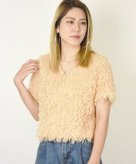 【RAYdy SELECT】Summer short sleeve knit (2Color)