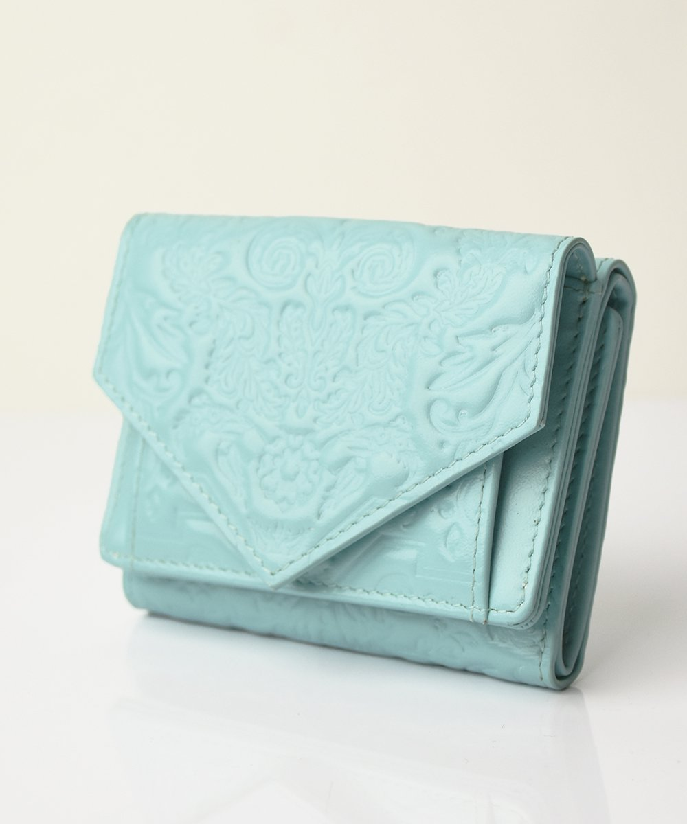 【mixxdavid】Jacquard Mini Wallet (Mint)