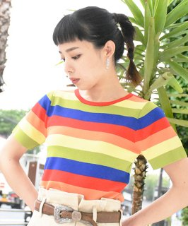 【RAYdy】Multi Knit Tops