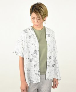 【ChignonStar】Open Collar Shirt