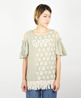 【LA Import】Fringe Gipsy Tops<img class='new_mark_img2' src='https://img.shop-pro.jp/img/new/icons20.gif' style='border:none;display:inline;margin:0px;padding:0px;width:auto;' />