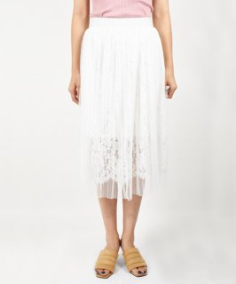 【RAYdy】Lace Sheer Skirt<img class='new_mark_img2' src='https://img.shop-pro.jp/img/new/icons20.gif' style='border:none;display:inline;margin:0px;padding:0px;width:auto;' />