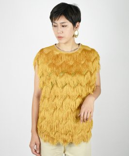 【QUINOA】Fringe Tops<img class='new_mark_img2' src='https://img.shop-pro.jp/img/new/icons20.gif' style='border:none;display:inline;margin:0px;padding:0px;width:auto;' />