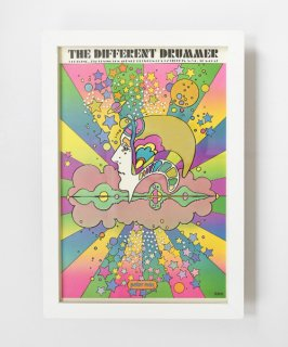 【Vintage Art Poster】Peter Max 『THE DIFFERENT DRUMMER』#2