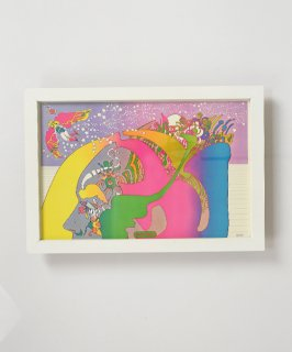 【Vintage Art Poster】Peter Max 『NUTRIMENT MUMBER TOW』#8