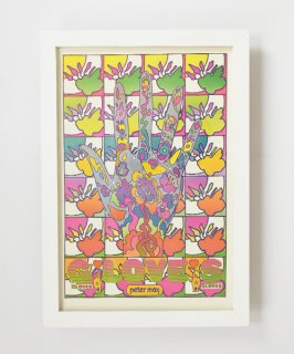 【Vintage Art Poster】Peter Max 『GLOVES』#9