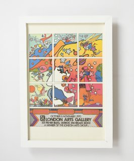 【Vintage Art Poster】Peter Max 『LONDON ARTS GALLERY』#12