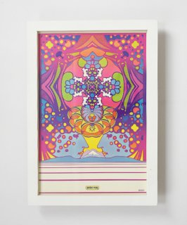 【Vintage Art Poster】Peter Max 『2000 LIGHT-YEARS』#13
