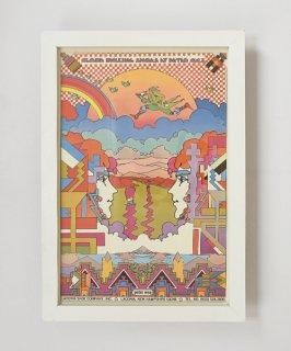 【Vintage Art Poster】Peter Max 『ALOUD WALKING SHOES』#14