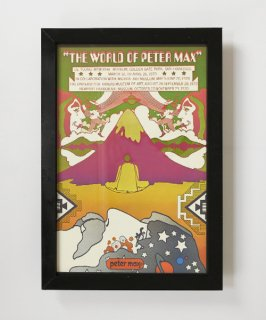 【Vintage Art Poster】Peter Max 『THE WORLD OF PETER MAX』#15